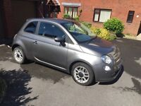 Fantastic 2010 Fiat 500 diesel in grey for sale £4600
