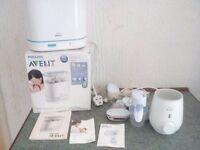 Breast pump steriliser & bottles warmer