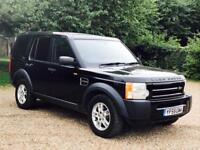 LAND ROVER DISCOVERY 3 (2006 MODEL) 'TDV6 - AUTO - LEATHER - 7 SEATER' **MASSIVE SPEC** (NO VAT)
