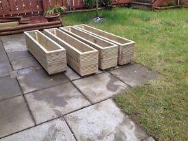 Decking Window Box / Herb Planter/Flower Planter/Wooden Planter/Timber Pot 100cm