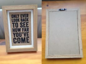Life Quote Picture Frame