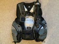 Diving equipment..Seac Sub Pro Lady BCD size Large in excellent condition