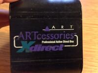 Art Accesories X Direct - Professional Active Direct Box