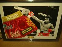Manny pacquiao hand signed shorts boxing