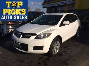 2008 Mazda CX-7 GS PREMIUM, LEATHER, SUNROOF, ALLOYS!