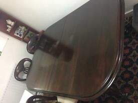 Dining Table Solid walnut
