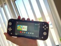 Nintendo switch lite in grey