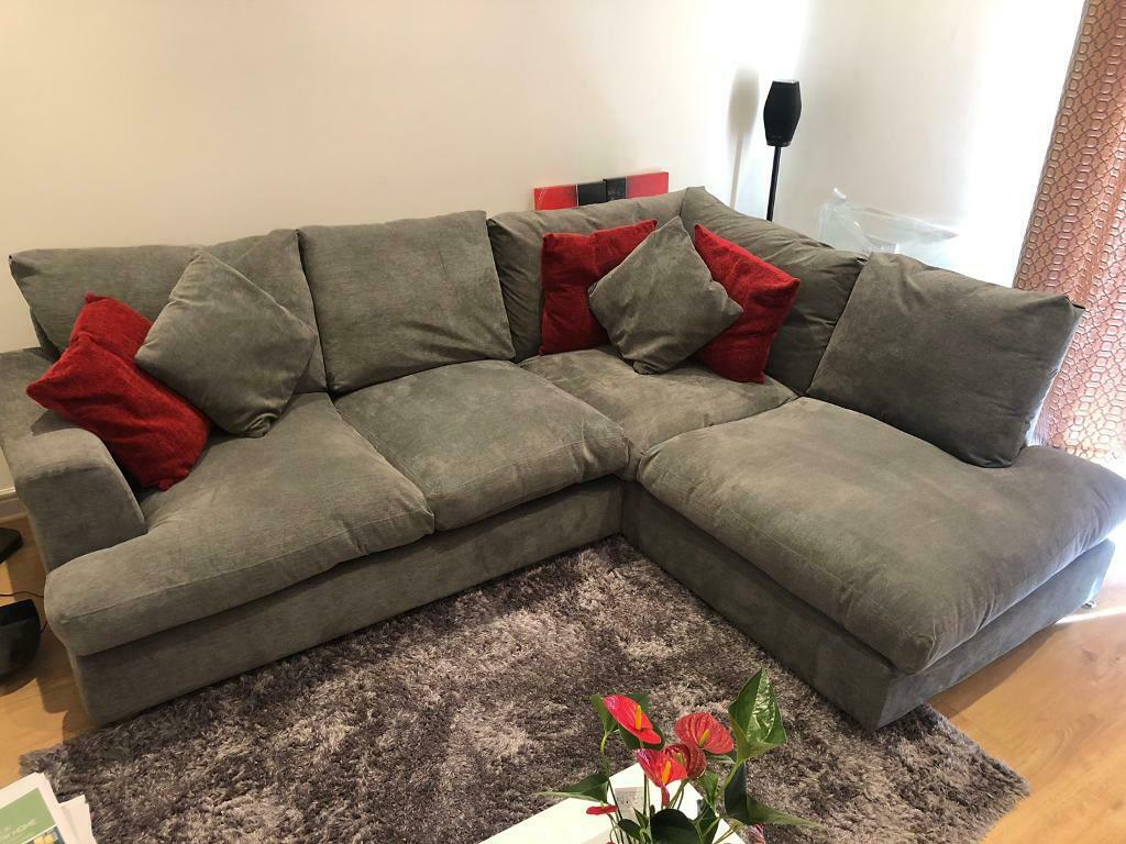 Pleasing Corner Sofa In Grey In Plymouth Devon Gumtree Ocoug Best Dining Table And Chair Ideas Images Ocougorg