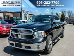 2013 Ram 1500 BIG HORN, ONE OWNER, 4X4, SIDE STEPS, BLUETOOTH