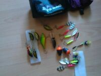 pike an perch lures an spinners