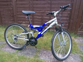"Olympus Atom Boys Suspension Bicycle 24"""