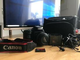 Canon 7D with 60mm Marco lens and Pro cube charger