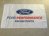 Ford performance parts Sierra Cosworth escort Fiesta focus ST RS workshop flag banner
