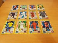 *COLLECTERS ITEM - 2010 World Cup Match Attacks cards (x100) - including golden players*