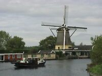 Canal Boating in Europe - April May - Dutch Tulip Fields