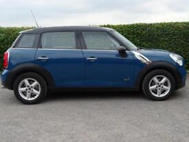 MINI COUNTRYMAN 1.6 COOPER D ALL4 5d FULL SERVICE HISTORY * MOT AUG 2019 (blue) 2012