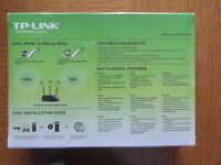 TP Link Wireless dual band USB adapter Model TL WDN3200. New in unopened still sealed box.