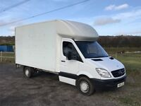 MERCEDES SPRINTER 313 CDI LWB DIESEL 2010 13FT 6 LUTON WITH TAIL-LIFT EURO 5 ENGINE DRIVES EXCELLENT