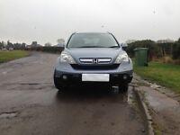 Honda CR-V 2007, 2204 cc Diesel, 4 wheel drive. Warranty and Breakdown Cover. Recovery insurance