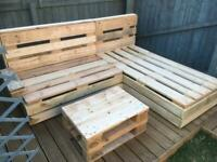 Garden Furniture Euro Pallet Upcycled