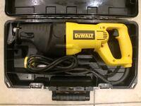 DeWalt DW310 RECIPROCATING SAW 110V NEW