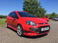 Abarth Punto Evo 180bhp Esseesse model. FSH, MOT to June 2018. New front brake pads and Dunlop tyres