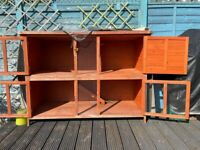Double story hutch for small pets + cover