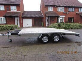 New Car Transporter Trailer 2700 GVW 4.5M Long