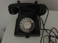 Antique Bakelite Phone 1953