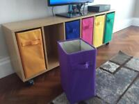 Children's Colourful storage compartments drawer