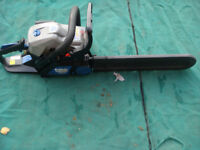 MACALISTER PETROL 16IN CHAINSAW SOME COMPLETE WITH CARRY CASE