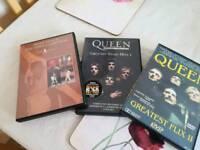 Queen dvds