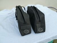 Harley Davidson leather pannier liners