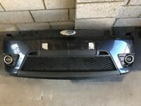 Ford Fiesta ST / Zetec S FRONT BUMPER Sea Grey (02 - 08) Breaking Spares mk6