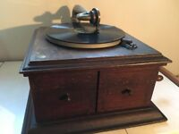 His Masters Voice Table Grand Gramophone.