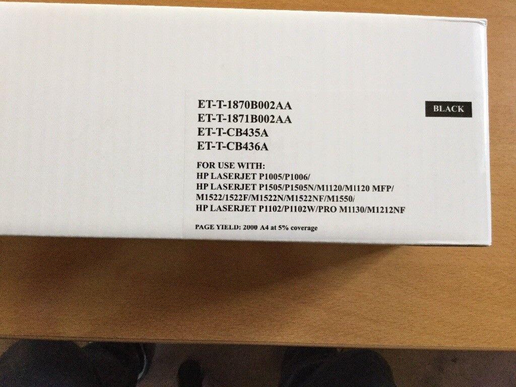 HP laserjet compatable Black Toner Cartridges. Brand new,sealed
