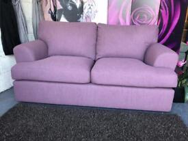 New Jackson Large 2 Seater Sofa in Mauve