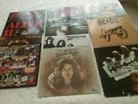 Vinyl LPs..rarities,majority played once. £10 each.