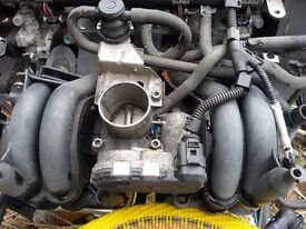 VW Polo 1.0 mpi 2000 Inlet Manifold with the Air Mass flow meter