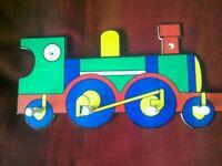 Train pegs/hooks