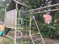 TP slide & climbing frame