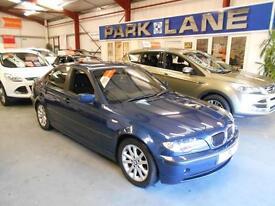 BMW 3 Series 320d ES 4dr (mystic blue metallic) 2004