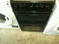Hotpoint 50cm electric double oven/grill free nn delivery/fitting 3 months warranty