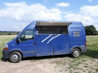 Horsebox 3.5t Renault Master