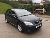 **TOYOTA COROLLA COLOUR COLLECTION 1.4 PETROL (2007 YEAR)**