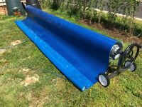 Swimming pool Cover and Roller