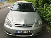 TOYOTA COROLLA 1.4 COLOUR COLLECTION 2006 06 REG SILVER 5 DOORS