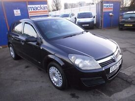 2005 VAUXHALL ASTRA 1.8 LIFE AUTOMATIC, 5DOOR HATCHBACK, FULL SERVICE HISTORY, NICE CAR, HPI CLEAR