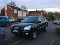 Kia Sportage 06 black 2.0dci full tow bar fitted. New front disks and pads.