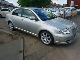 TOYOTA AVENSIS T4 2005 LOW MILES LONG MOT £1195